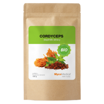 BIO Cordyceps militaris prášok